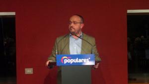 El president del PP català, Alejandro Fernández, en l'acte al CCCB.