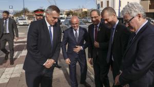 El President Torra ha arribat al Port de Tarragona poc després de dos quarts de deu del matí