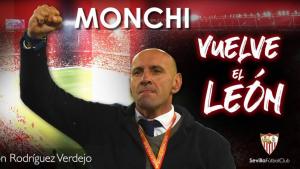 El Sevilla ha anunciat el retorn de Monchi