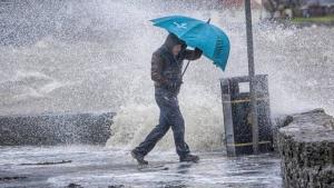 El viento y la lluvia serán los protagonistas este miércoles