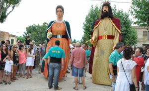 Els gegants de Pira ballaran en la Jornada Antifeixista de la Conca