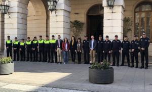 Els nous agents de la Policia Local de Gandia