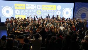 Els premis Enderrock s'han celebrat a l'Auditori de Girona