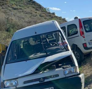 Els turismes implicats en l'accident