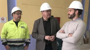 En marxa ja les obres de La Violeta, el govern de Fèlix Alonso ha anunciat aquest dilluns un nou projecte: la construcció d'un esplai per a la gent gran.