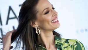 Eva González en el evento de Cortefiel