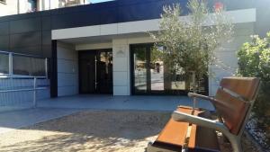 Exterior del Centre de Dia d'Alcover.