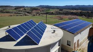 Finalitza la primera fase del parc fotovoltaic de Rocafort de Queralt.