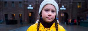 Greta Thunberg, fundadora del movimiento.