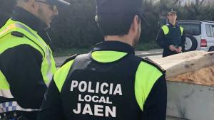 Imagen de archivo de la Policía Local de Jaén