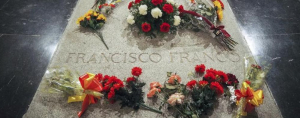Imagen de archivo de la tumba de Francisco Franco.