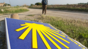 Imagen de archivo de un tramo del Camino de Santiago