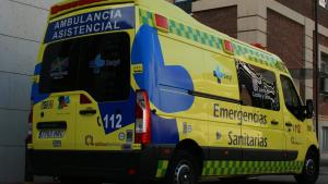 Imagen de archivo de una ambulancia Sacyl