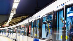 Imagen de archivo del metro de Madrid.