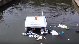 Imagen del nuevo robot WasteShark