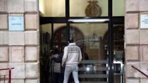 Imatge d'arxiu de l'entrada al jutjat de Tortosa.