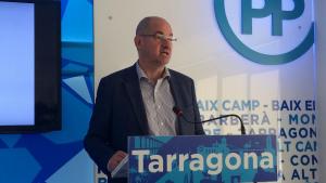 Imatge de Jordi Roca durant la roda de premsa.