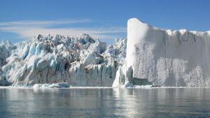 Imatge de la glacera Jakobshavn de Groenlàndia