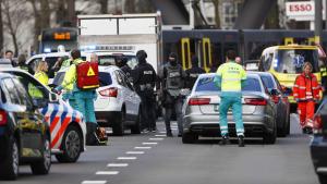 Imatge de la policia holandesa, en el punt del succés