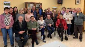 Imatge de la trobada de Som Espluga amb la Llar de Jubilats