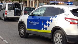 Imatge de l'operatiu policial antidroga a Torredembarra.