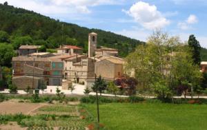 Imatge del poble de Llorac
