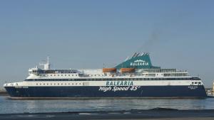 Imatge d'una de les seues embarcacions de Baleària.