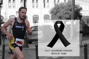 Imatge en memòria de l'atleta Alejandro Chisvert