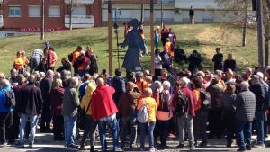 Inauguració del monument Amics del Camí de Sant Jaume