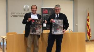 Jordi Agràs i David Rovira als Serveis Territorials de Cultura  de Tarragona