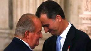 Juan Carlos y Felipe siempre han guardado una estrecha relación