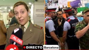 Julia Mejide habla sobre el boicot de la CUP a los militares