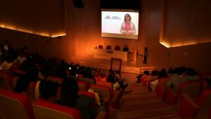 La Convenció de Dones d'ERC s'ha celebrat a l'auditori de l'Hospital Sant Joan de Reus.