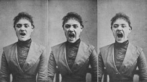 La histeria fue un tipo de locura que durante muchos años se le atribuyó a algunas mujeres.