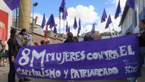 La mujeres bolivianas protestaron en la calle contra este tipo de agresiones el pasado 8-M