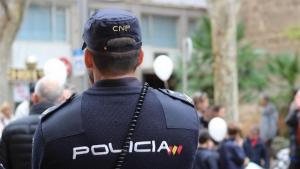 Imagen de un agente de la Policía Nacional