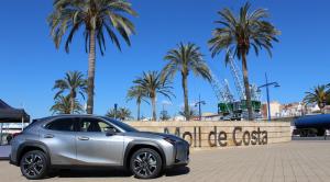 La presentació del nou Lexus UX 250H s'ha celebrat al Moll de Costa de Tarragona