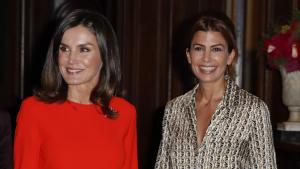 La reina Letizia y juliana Awada vistieron de Zara en su tercer encuentro