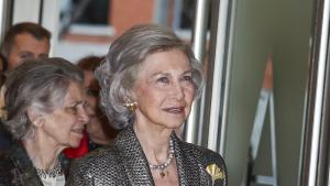 La reina Sofía y su «nuevo rostro»