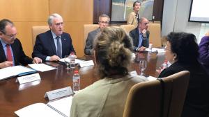 La reunió bilateral ha tingut lloc aquest dimecres a la Diputació