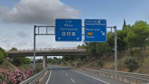 L'accident ha succeït en el punt quilomètric 7 de la carretera T-11 en sentit Tarragona