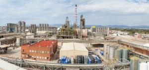 Les instal·lacions de BASF a la Canonja, Tarragona