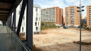 Les obres de la nova Facultat d'Educació de la URV al Campus Catalunya, aturades.