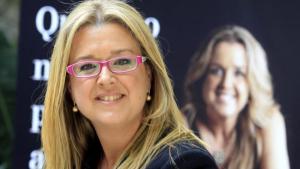L'ex-seleccionadora espanyola de natació sincronitzada i actual diputada de Junts per Catalunya, Anna Tarrés.