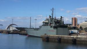 L'Exèrcit arribarà al Port de Tarragona amb el buc Martin Posadillo.