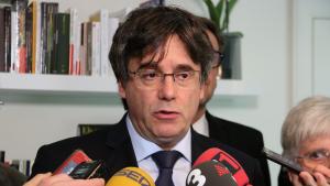 L'expresident Carles Puigdemont ha anunciat durant les declaracions als mitjans que inclou a l'estat espanyol en la demanda contra Llarena