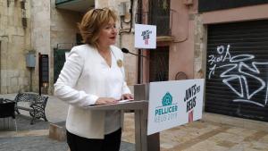 L'exregidora del PSC Teresa Pallarès, número tres de Junts per Reus