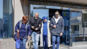 Lucía Bosé acudía a la Audiencia Provincial de Madrid