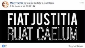 El mensaje de María José Campanario