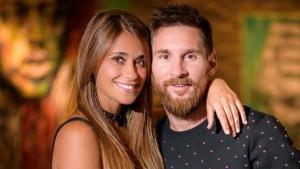 Messi i Antonela celebren l'aniversari del seu fill Thiago